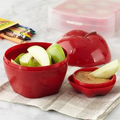 Healthy Eating on the Go, apple, carrot, and celery shapes
