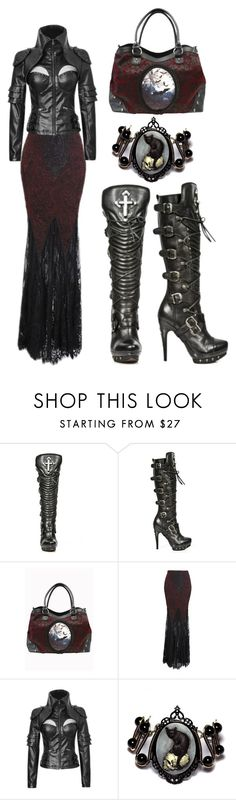 """Gothic Traveler"" by rebelsmarket-0 on Polyvore"
