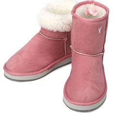 Pink Suede Fur Snow Winter Womens Short Boots All Size #Rodius
