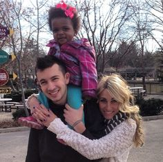 Tyler and Jenna Joseph with their adorable niece Mercy:)