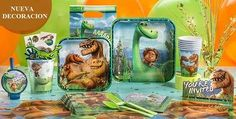 The Good Dinosaur Party Supplies - Dinosaur Birthday Party - Party City Canada Dinosaur Party Decorations, Dinosaur Party Supplies, Dinosaur Birthday Party, Birthday Themes For Boys, 6th Birthday Parties, 4th Birthday, Birthday Ideas, The Good Dinosaur, Party Party
