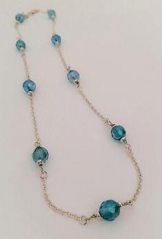 Ready-made: aqua aura gemstone quartz and by ChantelMcCabe on Etsy