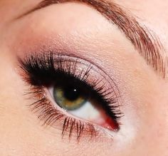 Really pretty for hazel eyes, and also fairly simple look.