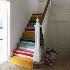 steps in European cottage, yes please