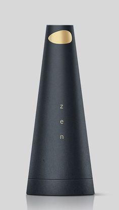 ♂ Package design black & gold Natural Zen Perfume #package