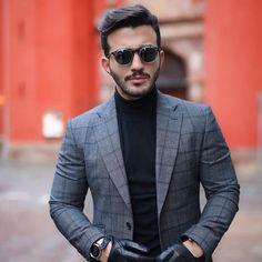 thebespokedudeseyewear:    Enjoy your #weekend like the #dapper @umitobeyd wearing our iconic #Pleat sunglasses with #clipon in #Stockholm   #tbdeyewear #thebespokedudeseyewear (at Stockholm Sweden)