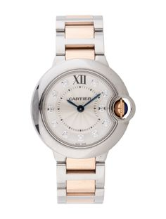 Cartier Two-Tone Ballon Bleu Watch