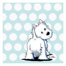 Image result for cartoon westie dog