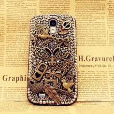 3D Vintage Metal Style Samsung Galaxy S4 Case by Fashion9shop, $19.99
