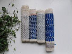 """Link to """"woven"""" on textilenerd.tumbler.com  WOW!    mylinhnguyen:    Hermine van Dijck"""