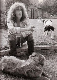 Roger Daltrey. AND HIS DOGS ROCK STARS AND THEIR PETS