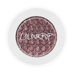 Cricket eyeshadow available only at www.colourpop.com for  $5.00 ~  There won't be any awkward silences when you wear this smoky mid-tone plum with warm and cool highlights of soft glitter