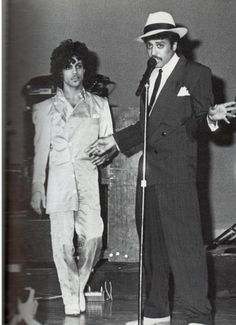 Prince and Morris Day - vintage pic
