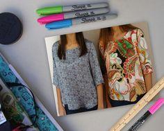 Blusas estampas originales Summer Dresses, Fashion, Noblesse, The Originals, Blouses, Moda, Summer Sundresses, Fashion Styles, Fashion Illustrations