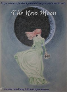 Oracle Cards, Sign Printing, Stunningly Beautiful, New Moon, Mists, Disney Characters, Fictional Characters, Disney Princess, Artwork