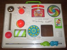 I definitely remember playing with this...just can't remember if it was at the doctor's office or if I actually had my own...