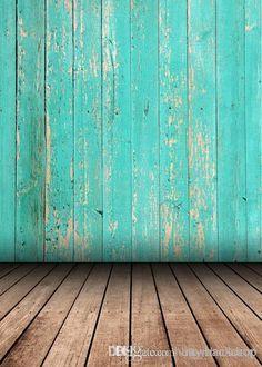 5x7ft (1.5x2.2m personalizar) de madera suelo de planchas fondos de fotografía fina de vinilo photography Fondo de estudio para los niños recién nacidos D-2134