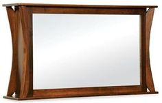 This 2 Way Mirror is a mirror that allows a flat screen television to be displayed through the mirror!   How cool is that!