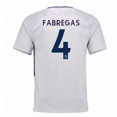 Chelsea Cesc Fabregas 4 Venkovní Dres 17-18 Krátký Rukáv Manchester United, Premier League, Chelsea 2017, Fashion, Goaltender, Leotards, Football Soccer, Moda, Fashion Styles