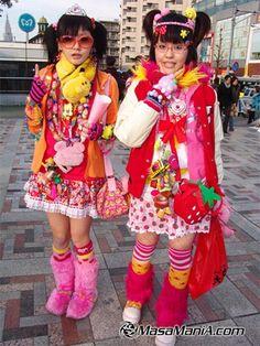 Decora chan : Japanese fashion subculture | Kawaii Blog @micah sanders, halloween 2013?