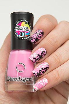 Dance Legend - Stamping - 11 - Pink