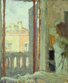 Dunstan, Bernard (English, b. 1920) - Window in Venice - s.d.