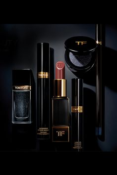 Go for dark glamour this fall with #TomFord's limited edition noir collection #SaksBeauty