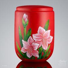 Urnen Individuell gestaltet | Amaryllis EDITION Jahreszeiten Amaryllis, Cremation Urns, Planter Pots, Urn, Seasons Of The Year
