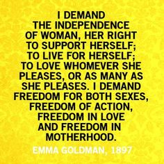 """I demand freedom for both sexes."" (Can patriarchy say that?).. Written In 1897 Over 110 Years Ago & We Are STILL Fighting!!"