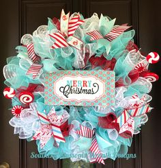 A personal favorite from my Etsy shop https://www.etsy.com/listing/563021065/christmas-wreath-christmas-swag-holiday