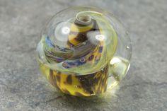 Into the Fire Lampwork Art Beads ~Tiger's Eye~ Artist handmade glass bead SRA