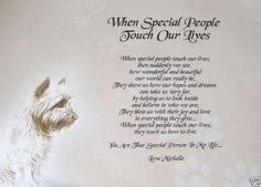 """A PERSONALISED POEM """"TO SOMEONE SPECIAL"""" - For a friend - A4 - LAMINATED GIFT 