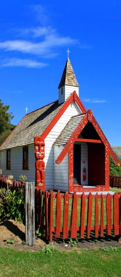 Onuku Church, The Kaik, Akaroa, NZ