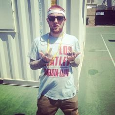 Mac Miller at Big Day Out, Australia