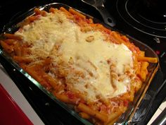 Seeing All Sides: Creamy Baked Ziti