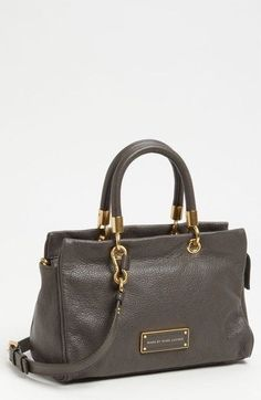 MARC BY MARC JACOBS Too Hot To Handle Satchel Faded Aluminium