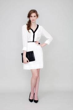 81poppies Serena Dress in ivory on SALE! Perfect for Holiday Parties!