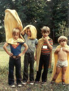 Childhood superhero