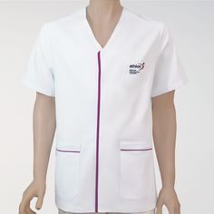 RMC-16017 Healthcare Uniforms, Salon Uniform, Doctor Coat, Clinic Logo, Nurse Costume, Medical Scrubs, Chef Jackets, Mens Fashion, Pharmacy Design