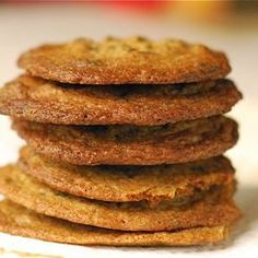 Thin & Crispy Chocolate Chip Cookies