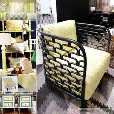 YELLOW: 2016 color home decor trends HPMKT 2015 | The Decorating Diva, LLC