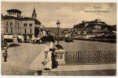 Verona - panorama da Ponte Umberto -  SAGID - Immagini Collezioni