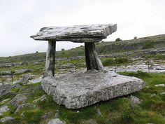 Poulnabrone Dolmen Ireland 2004