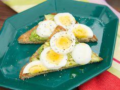 Avocado Toast Recipe : Marcela Valladolid : Food Network - FoodNetwork.com (S4/Healthy Fresh Start)