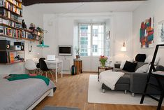 studio apartment ideas, would love a studio apartment