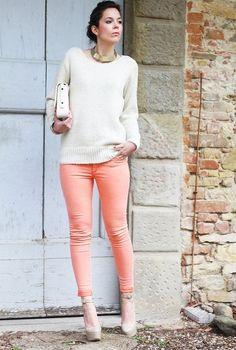 Pink and white  , H en Pantalones, miumiu en Tacones / Plataformas chicismo