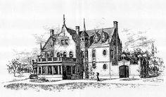 White Plains New York Asylum Architect James Brown Lord