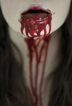 #Blood #Bloody #Lips