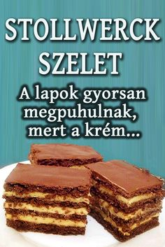 Hungarian Desserts, Nutella, Healthy Living, Cheesecake, Dessert Recipes, Food And Drink, Sweets, Snacks, Cookies