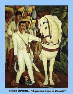 3 COPIES OF PICTURES OF PAINTINGS BY DIEGO RIVERA PROMINENT MEXICAN ARTIST